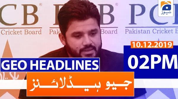 Geo Headlines 02 PM | 10th December 2019