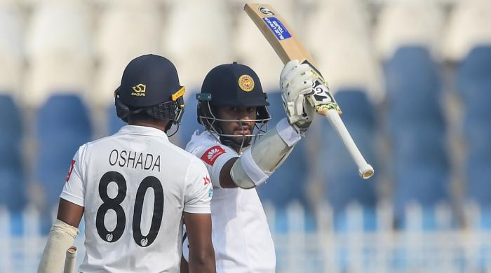 Four up as Pakistan thrash guests in home Test