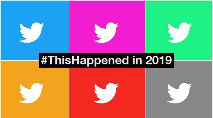 What dominated Twitter in 2019?