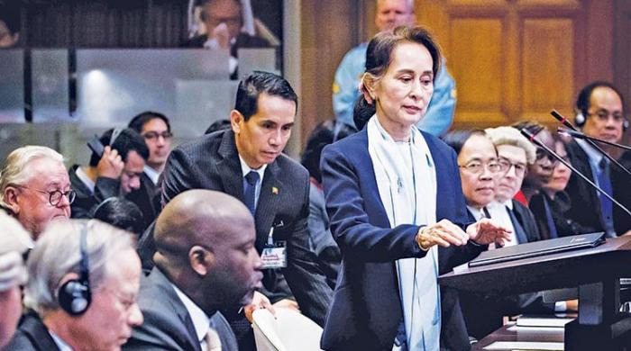 Nobel peace laureate Suu Kyi refuses to acknowledge Rohingya genocide at UN court