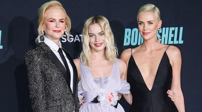 Charlize Theron, Nicole Kidman and Margot Robbie's picture at 'Bombshell' premiere is all about glamour