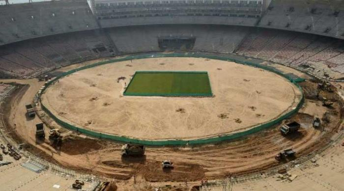 World´s biggest cricket stadium takes shape in India