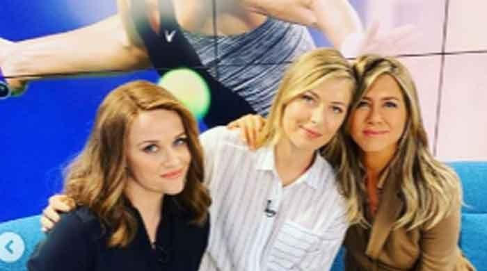 'The Morning Show': Maria Sharapova joins Jennifer Aniston, Reese Witherspoon