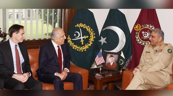 US peace envoy Khalilzad meets COAS Gen Bawja, FM Qureshi