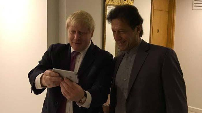 PM Imran congratulates Boris Johnson on election victory
