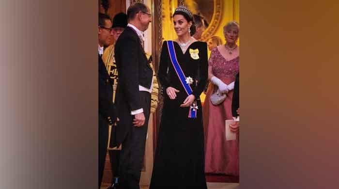 Kate Middleton's tribute to Princess Diana's 'Travolta Dress'