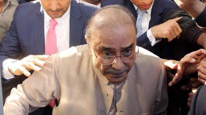 Zardari arrives in Karachi for medical treatment
