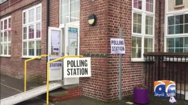 Geo News Special – UK Election: Live Reporting From A Polling Station In London