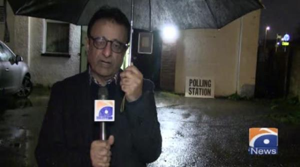 Geo News Special – UK Election: Live Reporting From A Polling Station In Hounslow