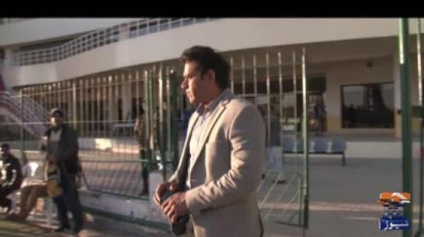 عاطف رانا اور عاقب جاوید نے اکبر بگٹی کرکٹ اسٹیڈیم کا دورہ کیا