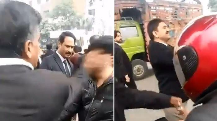 Another video of lawyers' hooliganism surfaces online