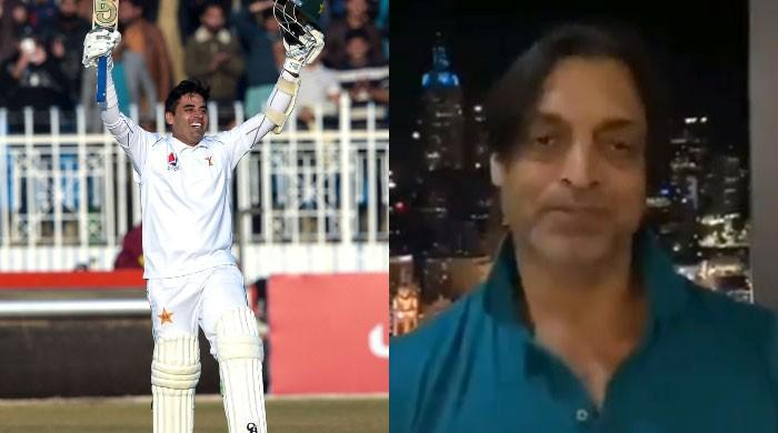 Shoaib Akhtar compares Abid Ali to Neil Armstrong over record-breaking century