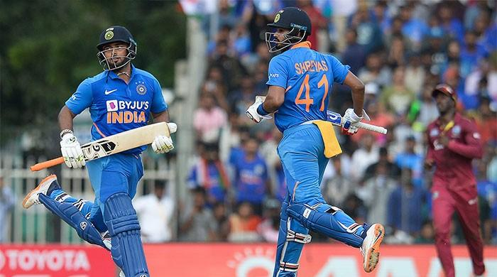 Iyer, Pant help India post 287-8 against West Indies in first ODI