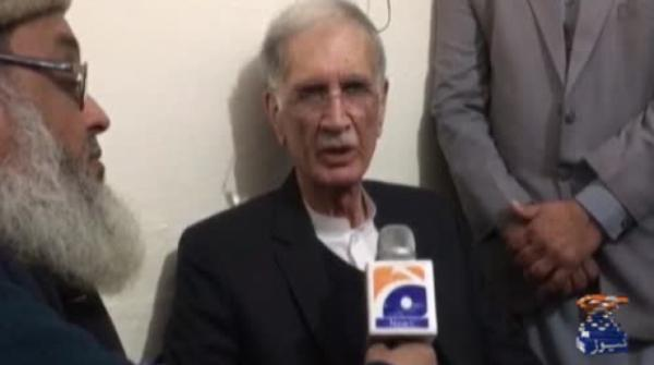 Want to use our right to appoint ECP members, says Pervaiz Khattak