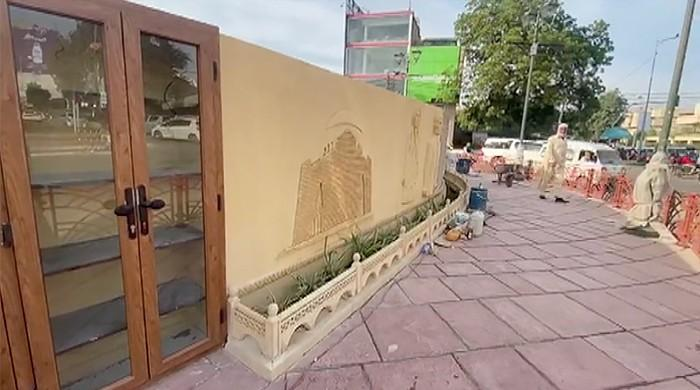 'Cupboard' that left many puzzled is street library by Commissioner Karachi