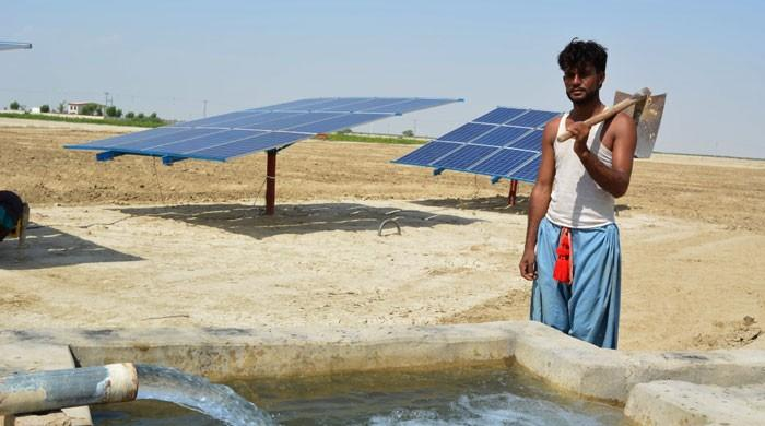 Villages in Sindh light up with solar power
