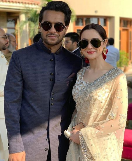 Iqra and Yasir Hussain tie the knot