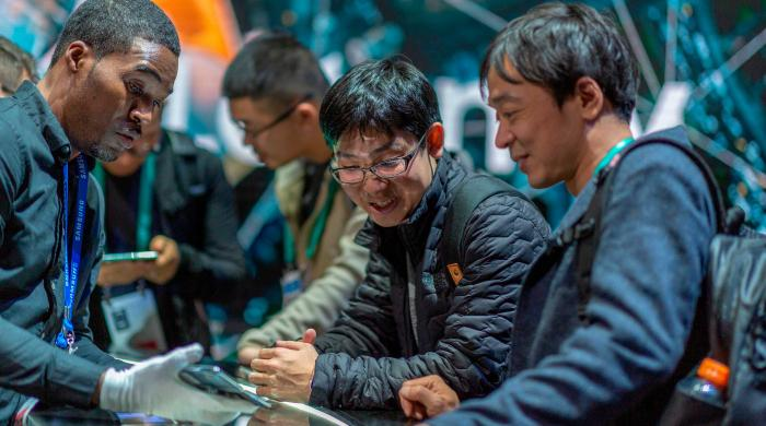 China unwavered by trade war as firms push forth in Consumer Electronics Show