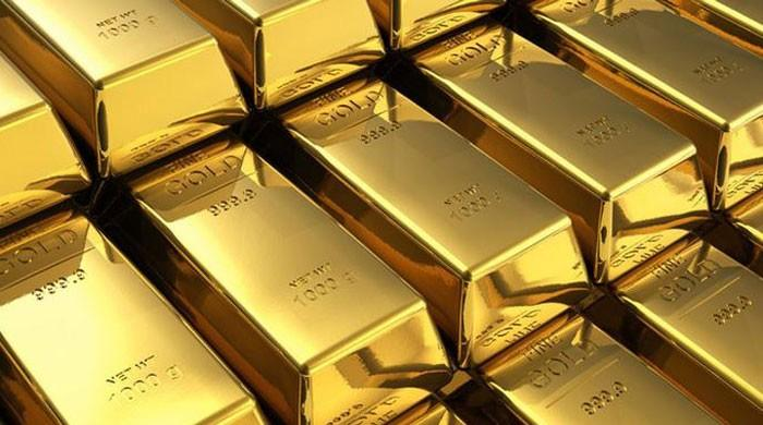 Gold price down by Rs2500 per tola, traded at Rs 90,500