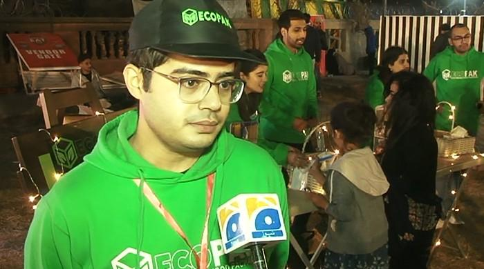 Man on a mission: Replacing plastic cutlery with biodegradable ones at Karachi Eat 2020