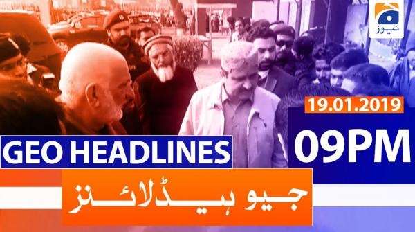 Geo Headlines 09 PM | 19th January 2020
