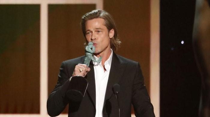 Brad Pitt, Laura Dern win at Hollywood's SAG ceremony