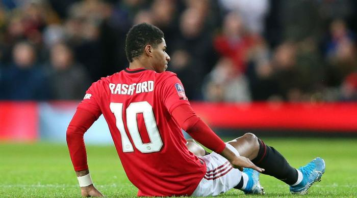 Man Utd's Rashford to sit out for six weeks following stress fracture