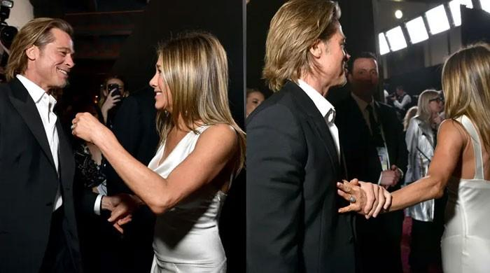 Jennifer Aniston addresses the world's obsession with her and Brad Pitt