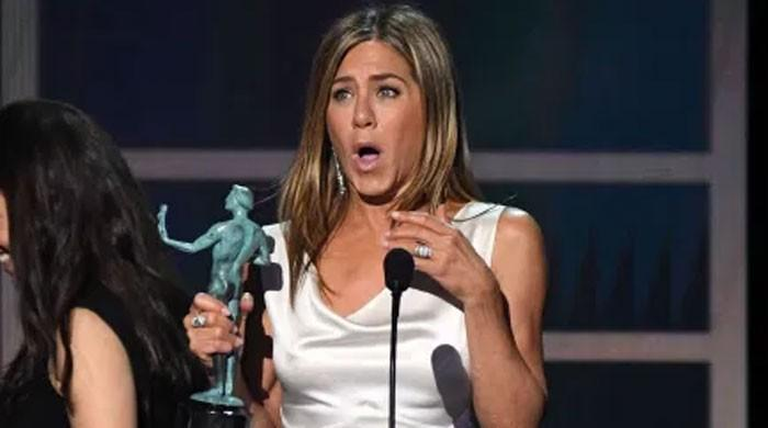 Jennifer Aniston's massive SAG win leaves her teary-eyed: WATCH