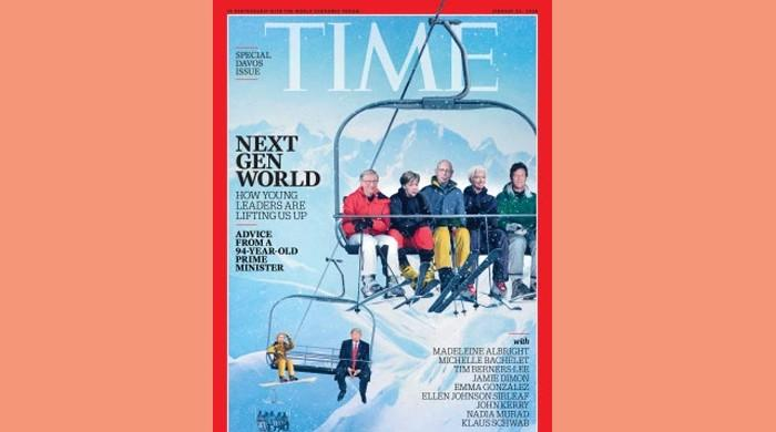 PM Imran Khan featured on cover of Time's Davos special issue