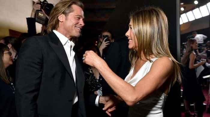 Jennifer Aniston says will be glad to have Brad Pitt on 'The Morning Show'