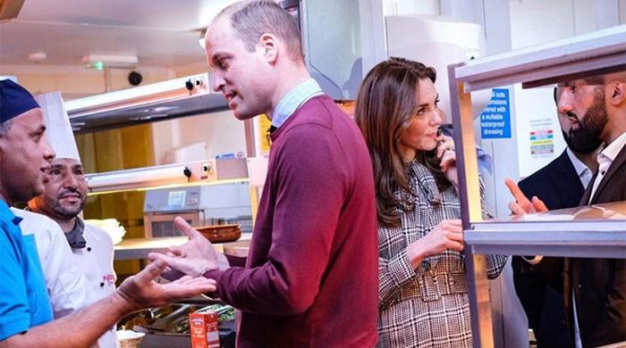 Royal couple visit Pakistani restaurant, tell staff they're 'in love' with the country