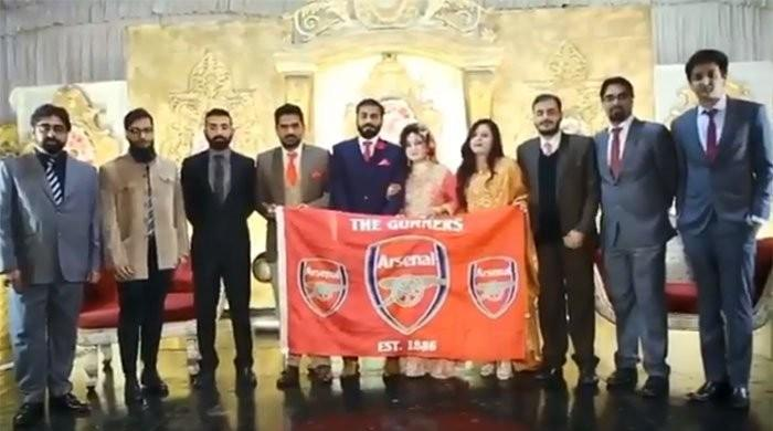 Arsenal star Mesut Ozil congratulates Pakistani couple, shares wedding video