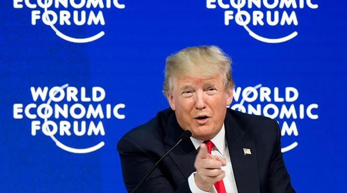 Trump slams environmentalists in Davos speech, refers to them as 'perennial prophets of doom'