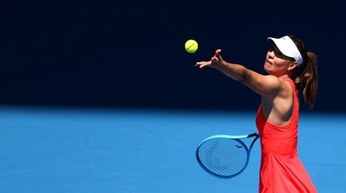 Sharapova hits all-time low at Australian Open