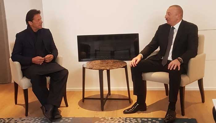 PM meets Azerbaijan President on sidelines of WEF in Switzerland