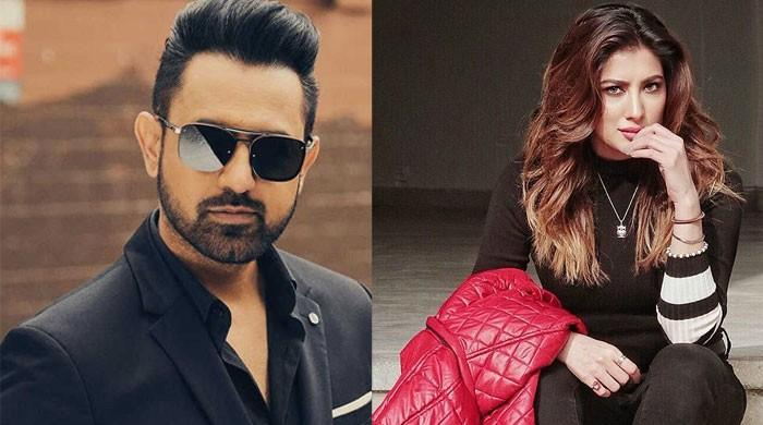 Mehwish Hayat thanks Indian singer Gippy Grewal