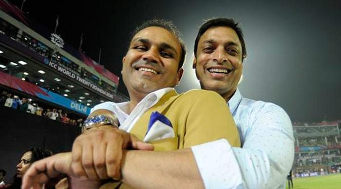 Shoaib Akhtar says he has more money than Sehwag 'has hair on his head'