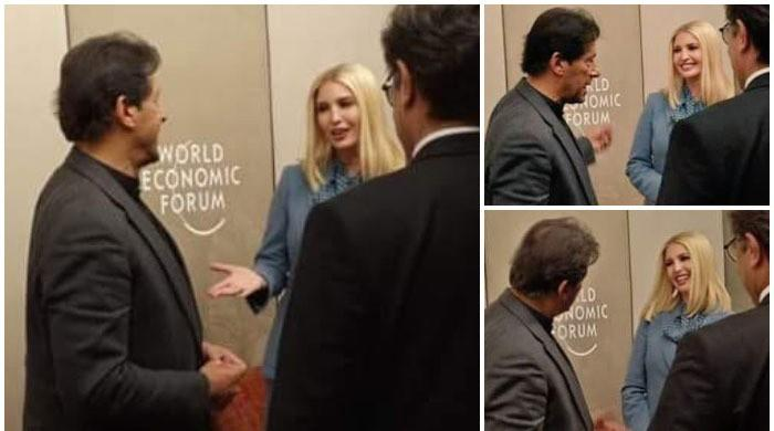 PM Imran meets Ivanka Trump in Davos