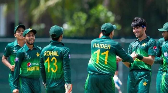 Pakistan U-19 beat Zimbabwe, secure spot in World Cup quarter finals