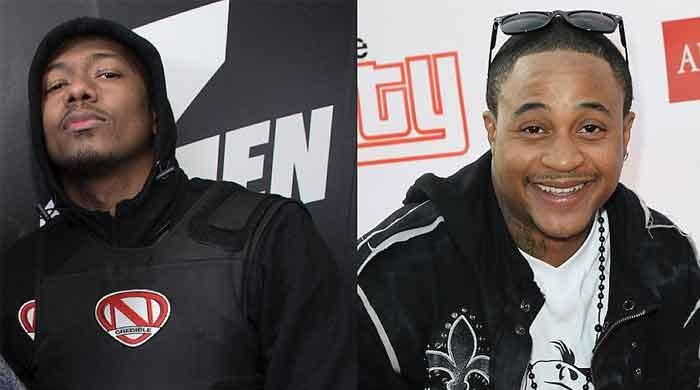 Is Orlando Brown taking sides with Eminem in his attack on Nick Cannon?