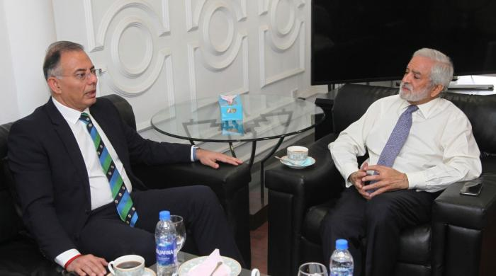 ICC chief executive concludes two-day visit to Pakistan
