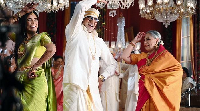 Katrina Kaif shakes a leg with Amitabh, Jaya Bachchan, photos go viral