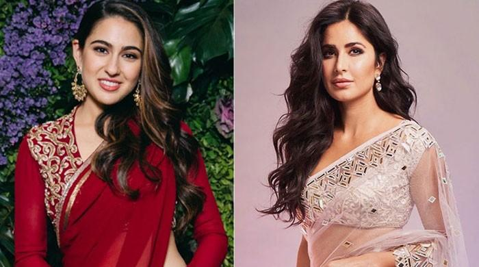 Katrina Kaif showers love on Sara Ali Khan