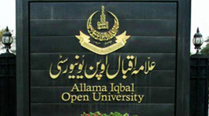 AIOU issues schedule for admission test of merit-based programmes