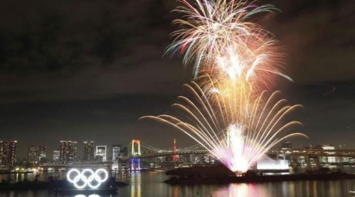 Olympics: Tokyo celebrates with fireworks show to mark six months before Games