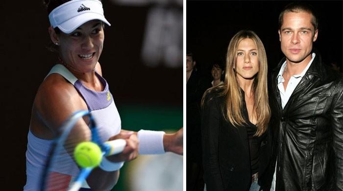 'Like Brad Pitt and Jennifer Aniston' - coach Martinez back to boost Muguruza