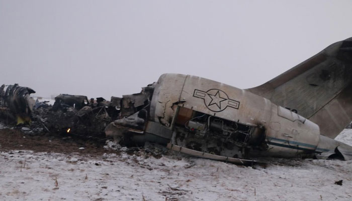 Taliban Repels Afghan Forces Trying To Reach U.S. Jet Crash Site