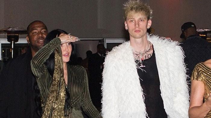 Miley Cyrus's sister Noah and Machine Gun Kelly in a relationship?
