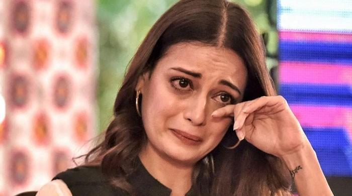 Dia Mirza cries uncontrollably after the death of NBA legend Kobe Bryant